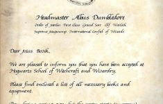 15+ Hogwarts Acceptance Letter Generator | Contesting Wiki