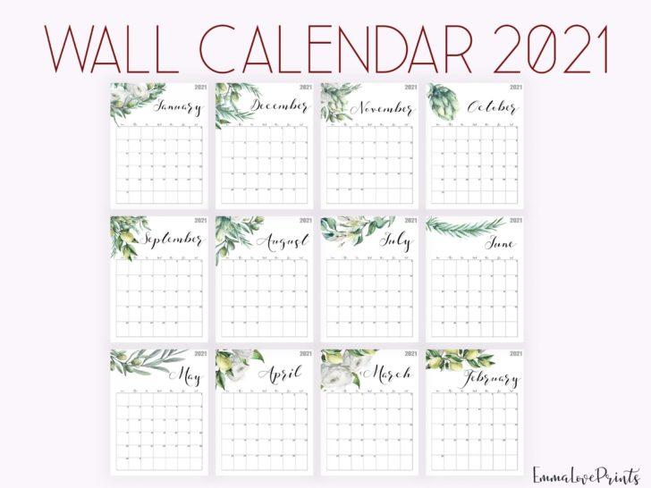 Weight Loss Calendar 2021