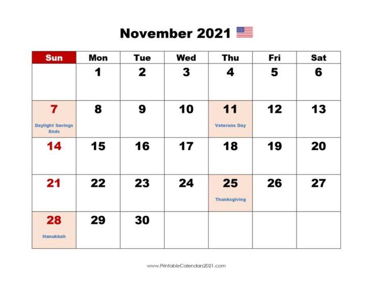 November December 2021 January 2021 Calendar Printable