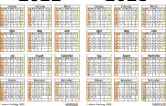 Printable 2022 And 2022 Calendar