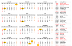2022 Calendar By Month Printable