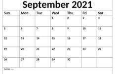 Calendar September 2021 Uk